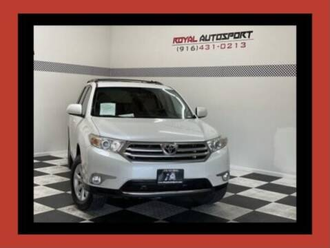 2012 Toyota Highlander for sale at Royal AutoSport in Sacramento CA