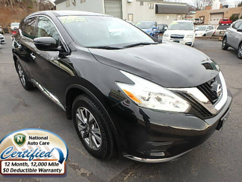 2017 Nissan Murano for sale at Jon's Auto in Marquette MI