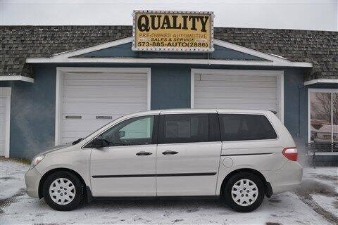 2006 Honda Odyssey for sale at Quality Pre-Owned Automotive in Cuba MO