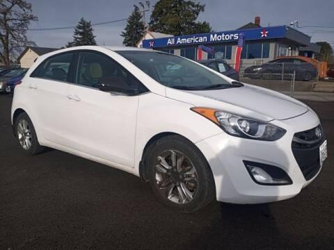 2013 Hyundai Elantra GT for sale at All American Motors in Tacoma WA