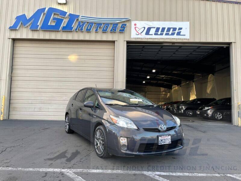 2010 Toyota Prius for sale at MGI Motors in Sacramento CA