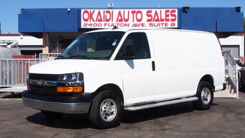 2019 Chevrolet Express Cargo for sale at Okaidi Auto Sales in Sacramento CA