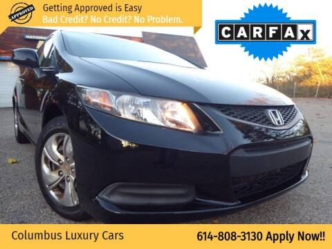 2013 Honda Civic for sale at Columbus Luxury Cars in Columbus OH