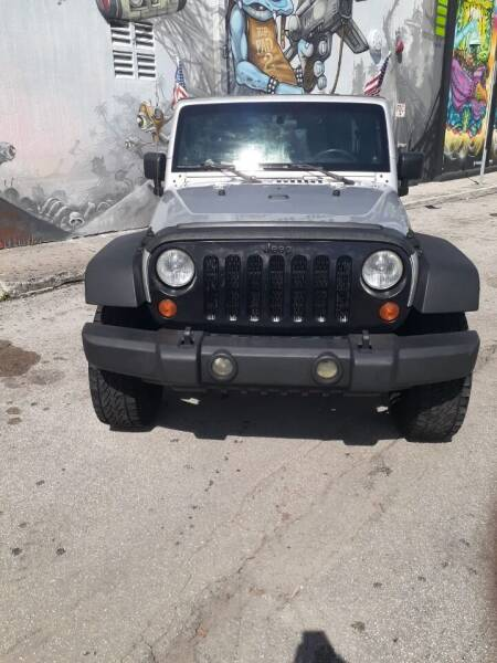 2007 Jeep Wrangler Unlimited 4x4 Sahara 4dr SUV - Miami FL