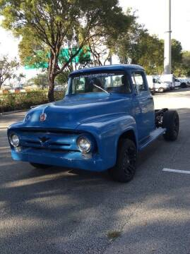 1956 Ford F-250 for sale at Tropical Motors Cargo Vans and Car Sales Inc. in Pompano Beach FL