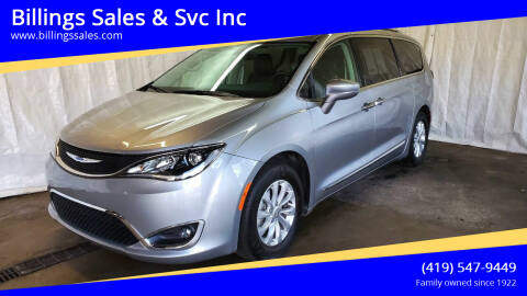 2018 Chrysler Pacifica for sale at Billings Sales & Svc Inc in Clyde OH