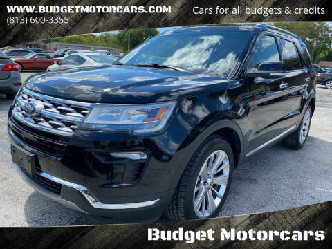 2019 Ford Explorer for sale at Budget Motorcars in Tampa FL