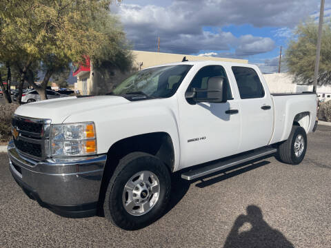 2013 Chevrolet Silverado 2500HD for sale at Tucson Auto Sales in Tucson AZ