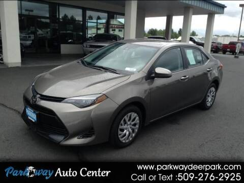 2019 Toyota Corolla for sale at PARKWAY AUTO CENTER AND RV in Deer Park WA