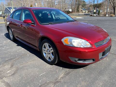 2011 Chevrolet Impala for sale at Volpe Preowned in North Branford CT
