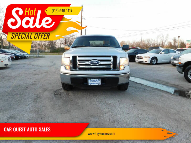 2010 Ford F-150 for sale at CAR QUEST AUTO SALES in Houston TX