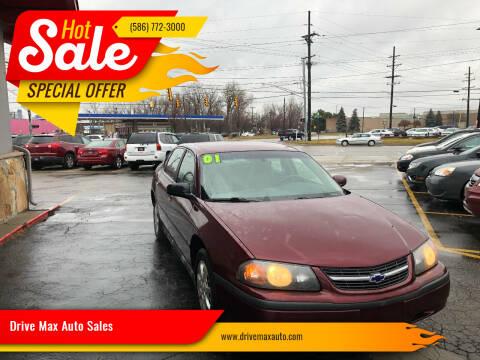2001 Chevrolet Impala for sale at Drive Max Auto Sales in Warren MI