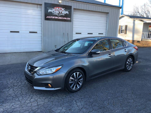 2016 Nissan Altima for sale at Jack Foster Used Cars LLC in Honea Path SC