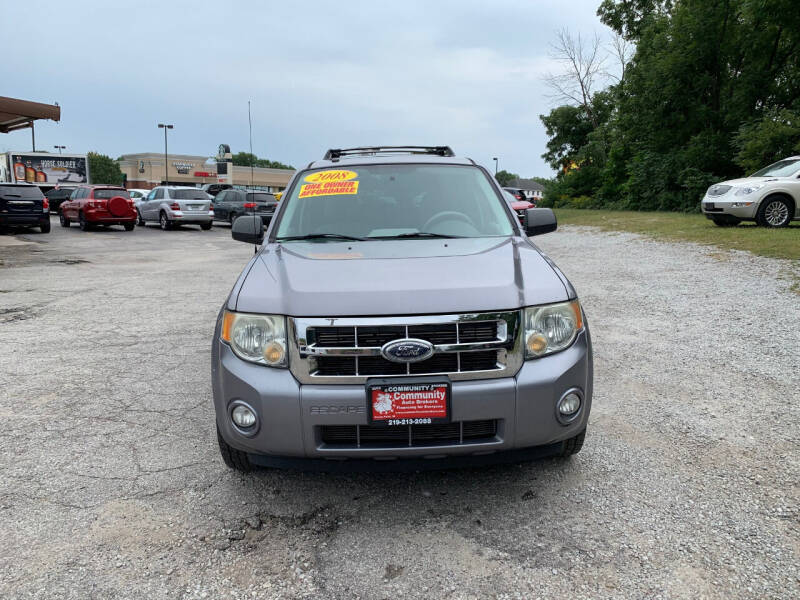 2008 Ford Escape for sale at Community Auto Brokers in Crown Point IN
