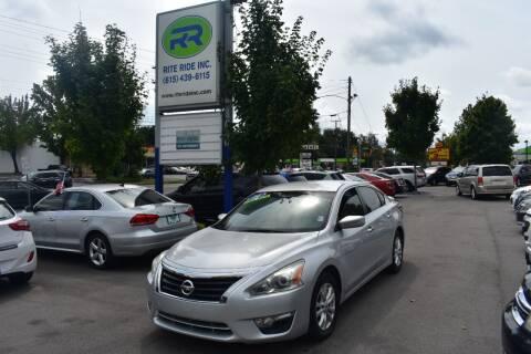2014 Nissan Altima for sale at Rite Ride Inc in Murfreesboro TN