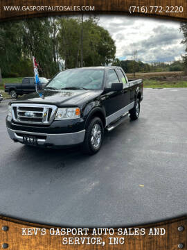 2008 Ford F-150 for sale at KEV'S GASPORT AUTO SALES AND SERVICE, INC in Gasport NY