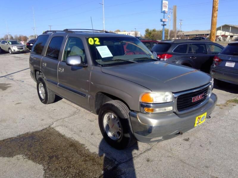2002 GMC Yukon for sale at Regency Motors Inc in Davenport IA