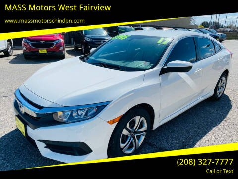 2017 Honda Civic for sale at M.A.S.S. Motors - West Fairview in Boise ID