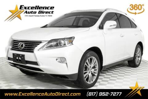 2014 Lexus RX 350 for sale at Excellence Auto Direct in Euless TX