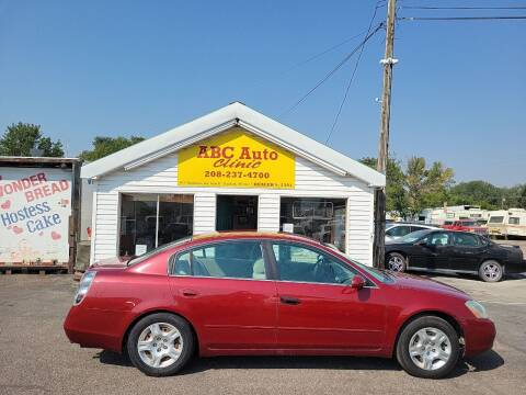 2004 Nissan Altima for sale at ABC AUTO CLINIC in Chubbuck ID