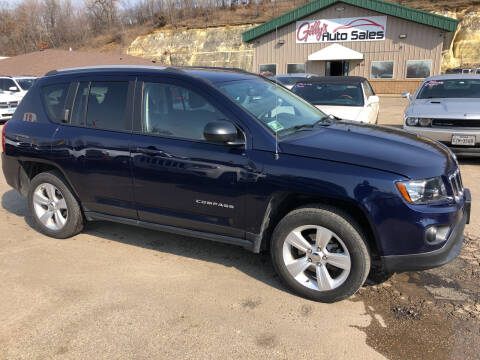 2017 Jeep Compass for sale at Gilly's Auto Sales in Rochester MN