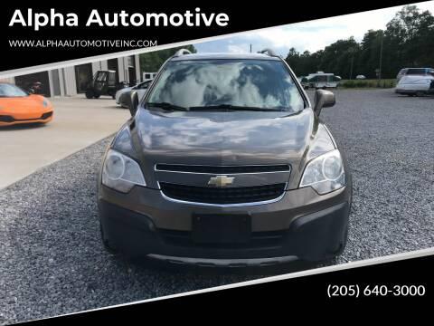2014 Chevrolet Captiva Sport for sale at Alpha Automotive in Odenville AL