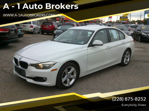 2013 BMW 3 Series for sale at A - 1 Auto Brokers in Ocean Springs MS