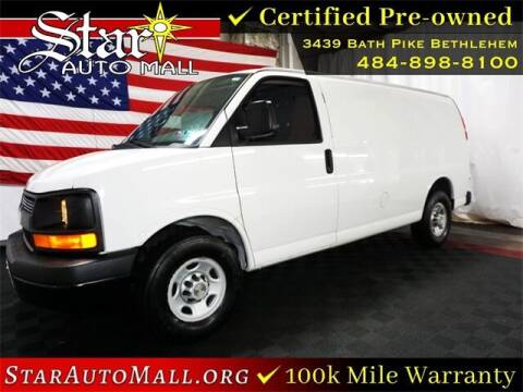 2014 Chevrolet Express Cargo for sale at STAR AUTO MALL 512 in Bethlehem PA