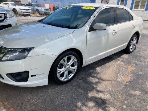 2012 Ford Fusion for sale at Import Auto Mall in Greenville SC
