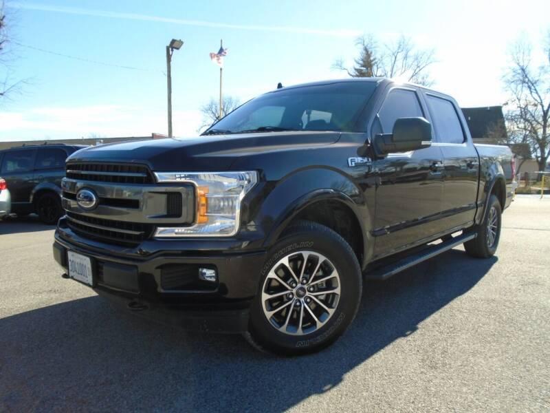 2018 Ford F-150 for sale at Total Eclipse Auto Sales & Service in Red Bud IL