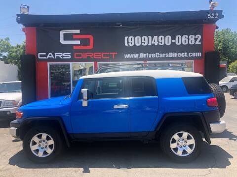 2007 Toyota FJ Cruiser for sale at Cars Direct in Ontario CA