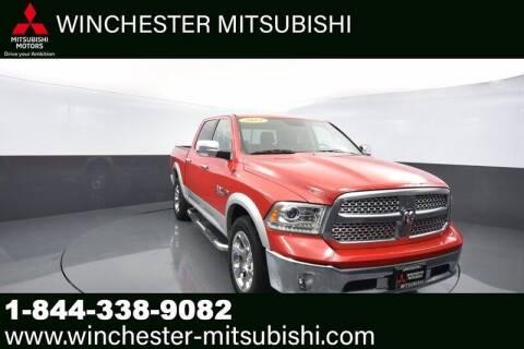 2015 RAM Ram Pickup 1500 for sale at Winchester Mitsubishi in Winchester VA