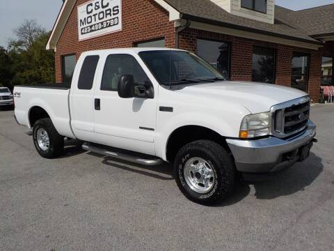 2002 Ford F-250 Super Duty for sale at C & C MOTORS in Chattanooga TN