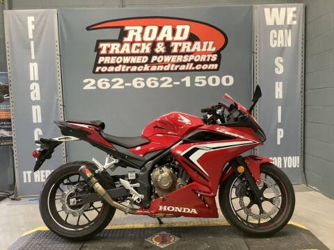 2019 Honda CBR500R for sale at Road Track and Trail in Big Bend WI