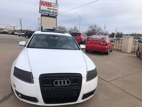 2007 Audi A6 for sale at MB Auto Sales in Oklahoma City OK
