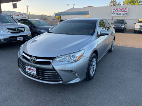 2017 Toyota Camry for sale at Adams Auto Sales in Sacramento CA