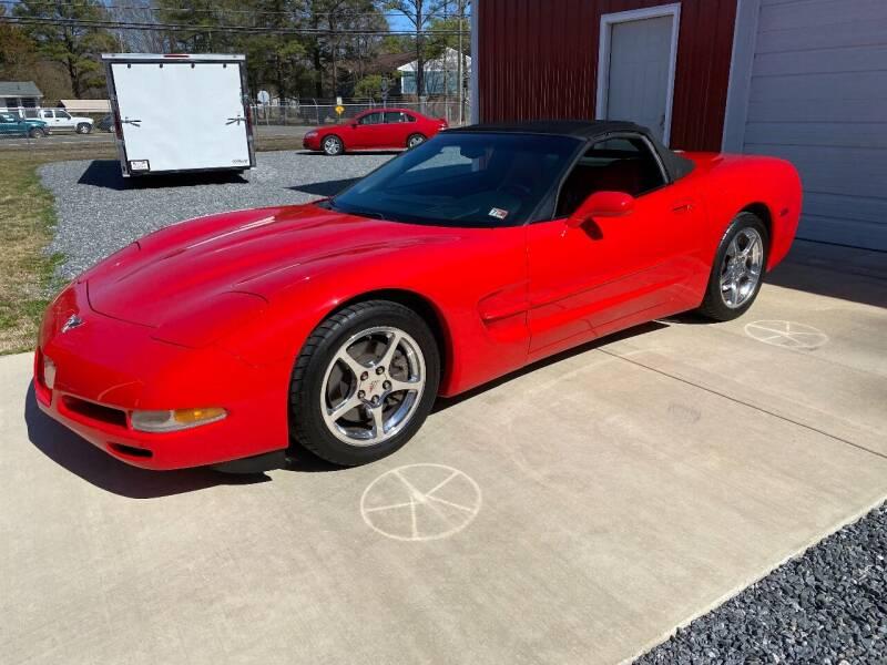 2003 Chevrolet Corvette for sale at F & A Corvette in Colonial Beach VA