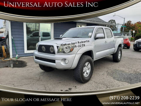 2011 Toyota Tacoma for sale at Universal Auto Sales Inc in Salem OR