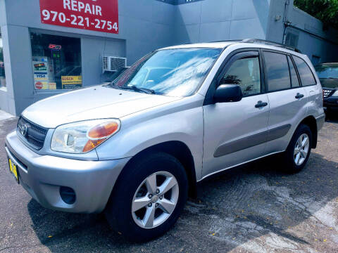 2005 Toyota RAV4 for sale at J & M PRECISION AUTOMOTIVE, INC in Fort Collins CO