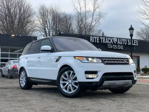 2017 Land Rover Range Rover Sport for sale at Rite Track Auto Sales in Canton MI