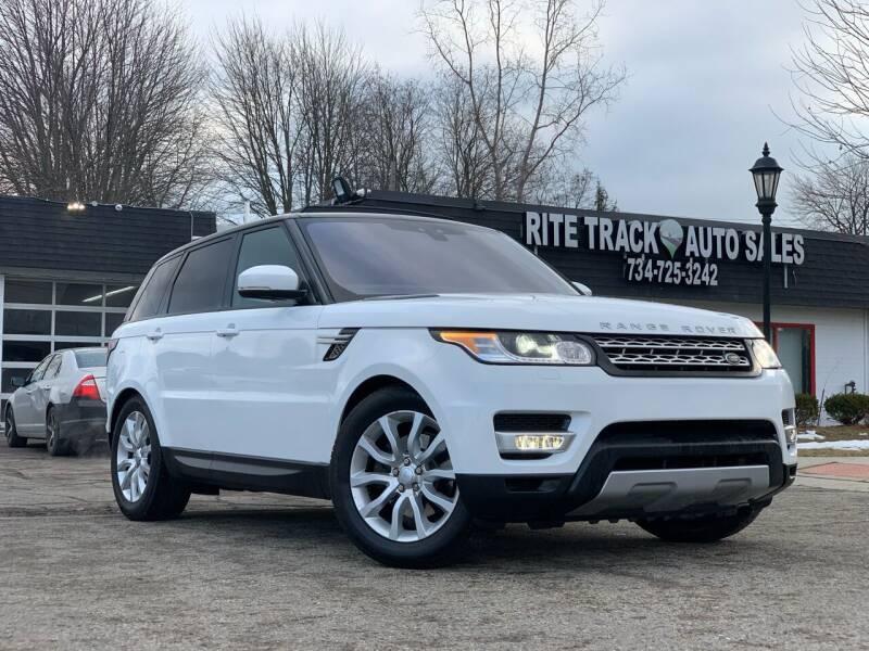 2017 Land Rover Range Rover Sport for sale at Rite Track Auto Sales in Canton MI