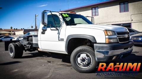 2006 Chevrolet Silverado 3500 for sale at Rahimi Automotive Group in Yuma AZ