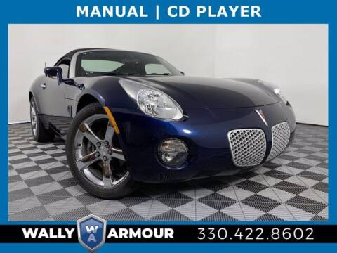2006 Pontiac Solstice for sale at Wally Armour Chrysler Dodge Jeep Ram in Alliance OH