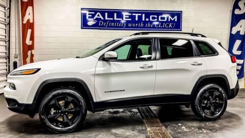 2018 Jeep Cherokee for sale at Falleti Motors, Inc.  est. 1976 in Batavia NY