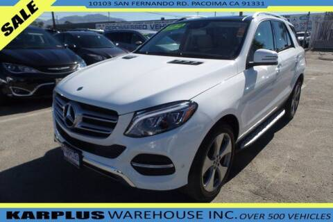 2017 Mercedes-Benz GLE for sale at Karplus Warehouse in Pacoima CA