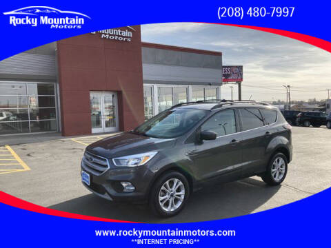 2018 Ford Escape for sale at Rocky Mountain Motors in Idaho Falls ID