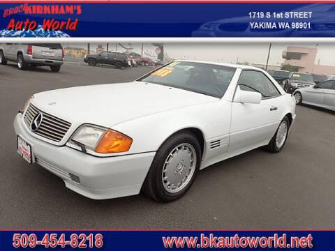 1991 Mercedes-Benz 500-Class for sale at Bruce Kirkham Auto World in Yakima WA