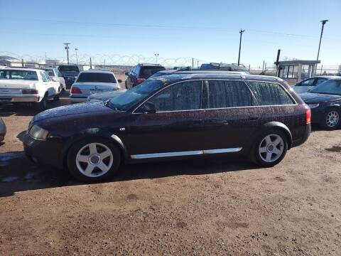 2003 Audi Allroad for sale at PYRAMID MOTORS - Fountain Lot in Fountain CO