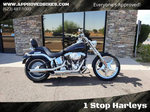 2001 Harley-Davidson Softail Deuce FXSTDI for sale at 1 Stop Harleys in Peoria AZ
