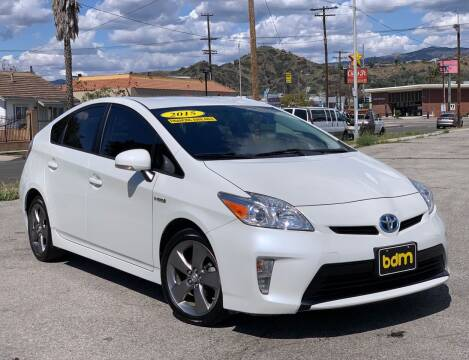 2015 Toyota Prius for sale at BEST DEAL MOTORS  INC. CARS AND TRUCKS FOR SALE in Sun Valley CA